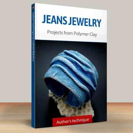 Faux Jeans/Denim Fabric: Part.6 Jeans Bracelet