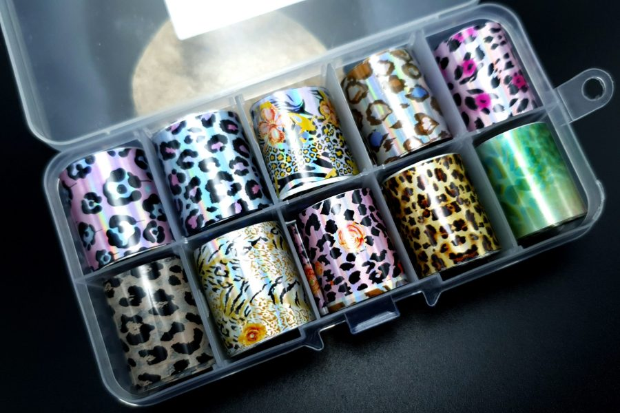 "Set of Foils ""Animal Prints"" 2"