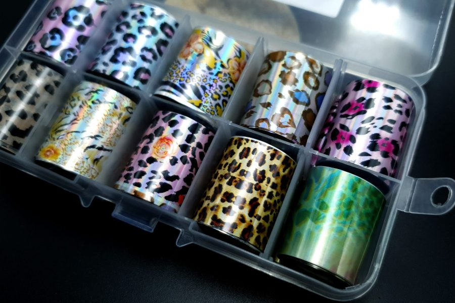"Set of Foils ""Animal Prints"" 4"