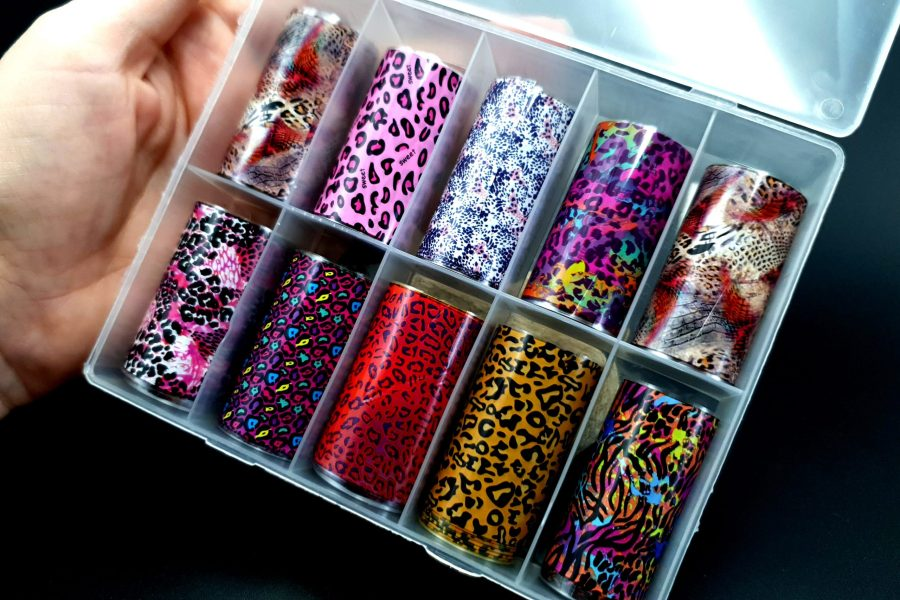"Set of Foils ""Animal Prints"" 3"