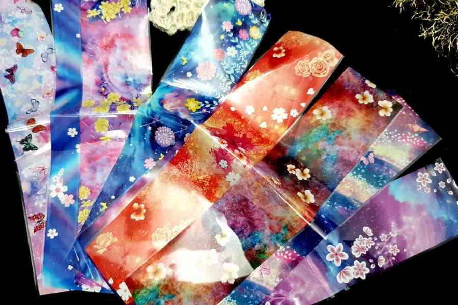 9 Unique Patterns of Colorful Flowers 3