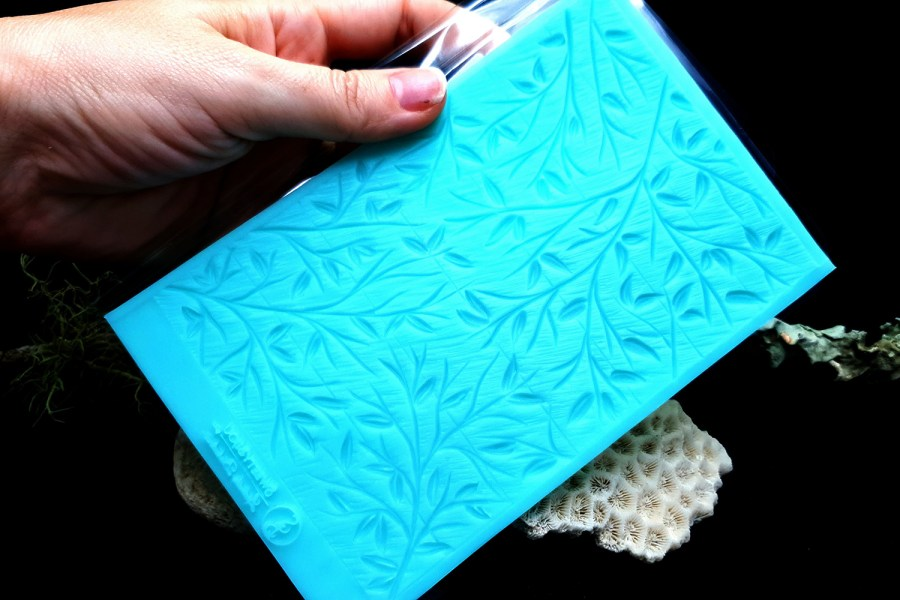 """Silicone Texture """"Spring Leafs"""" 3"""