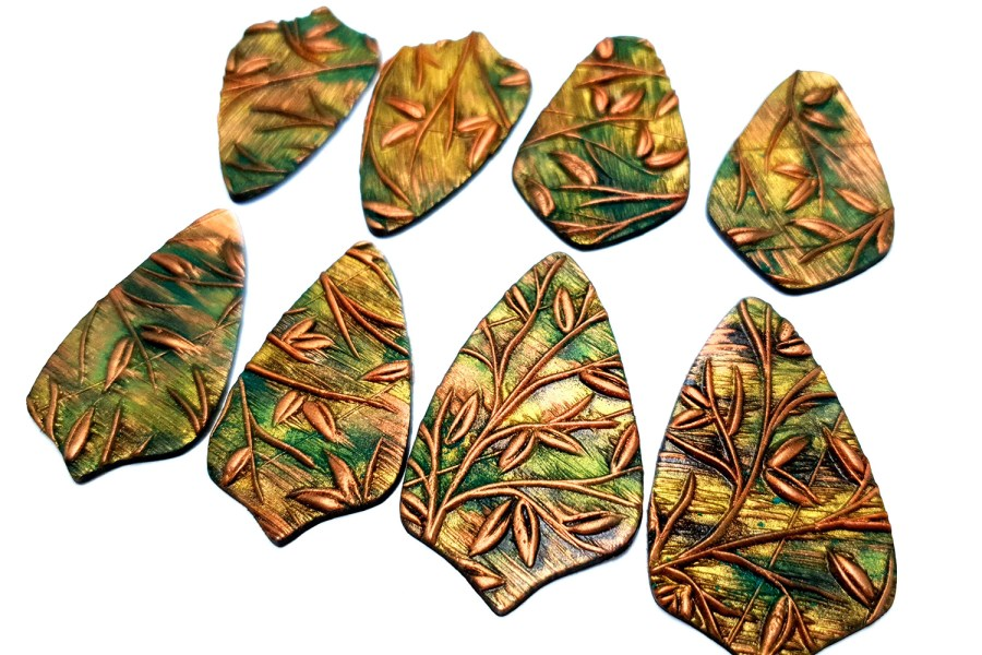 """Silicone Texture """"Spring Leafs"""" 7"""