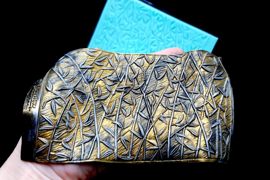 """Silicone Texture """"Bamboo Forest"""" 1"""