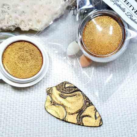 Gold – Solid metal powder (1pcs)