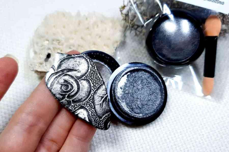 Dark Silver - Metal powder (1pcs) 4