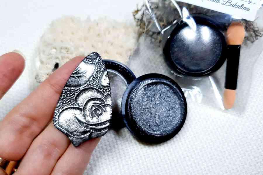 Dark Silver - Metal powder (1pcs) 6