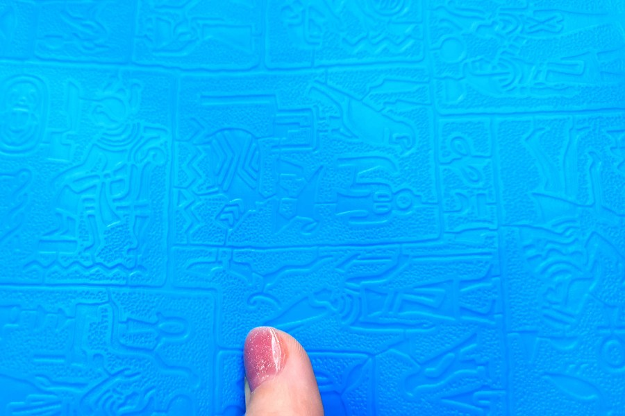 Super Thin Texture - Egyptian Murals (OUT, 190x120)