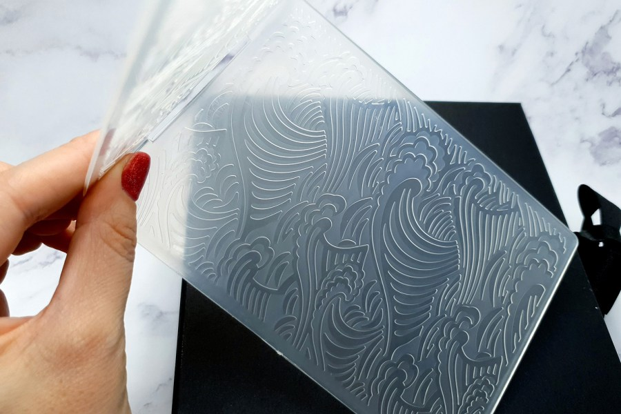 "Double side texture ""Ocean Weaves"""