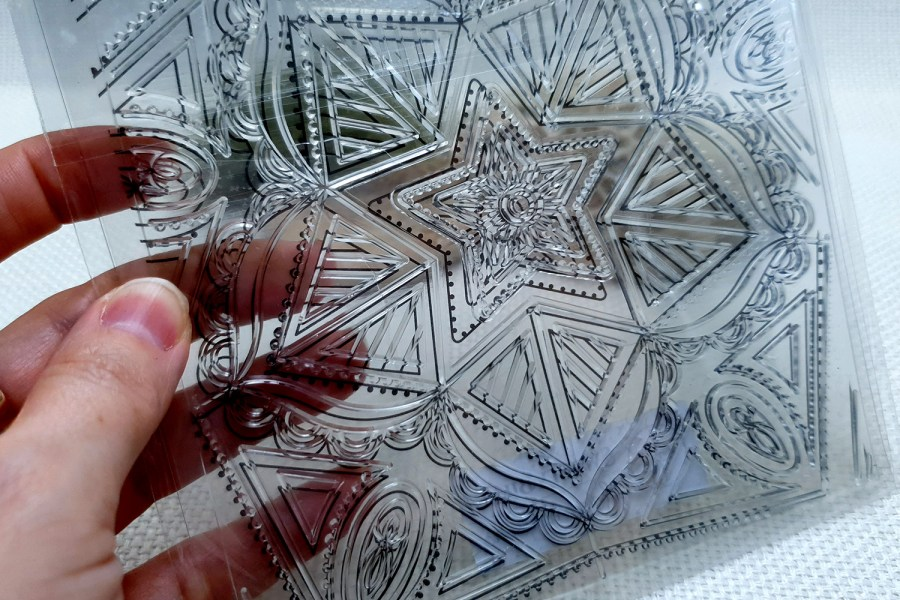 Mandala Star - Clear Silicone Stamp 5