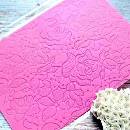 Flowers Net Lace – 110x185mm