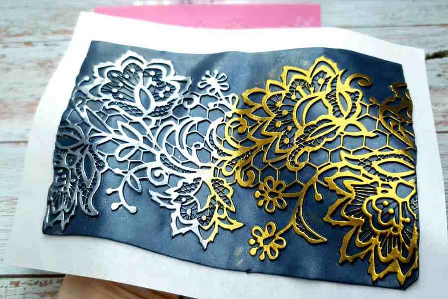 Flowers Lace - 125x165mm 6