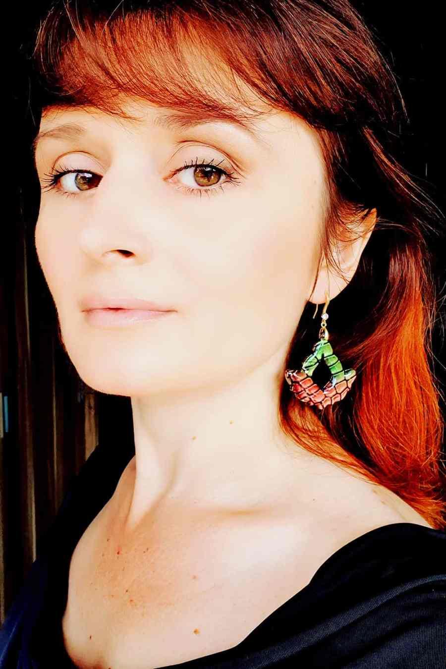 "Earrings ""Magic Flowers"" 12"