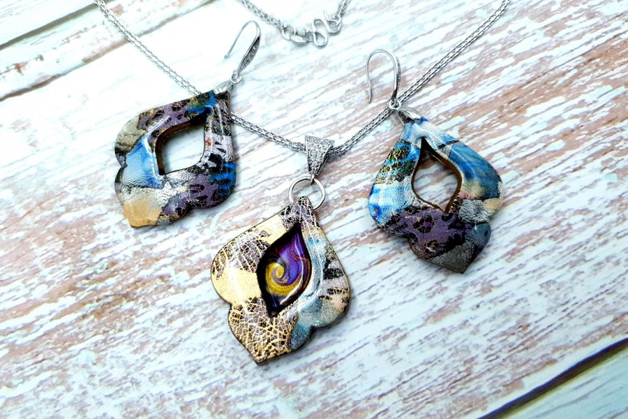 """Jewelry set """"The Marvelous East"""" 1"""
