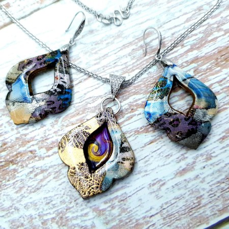 """Jewelry set """"The Marvelous East"""""""
