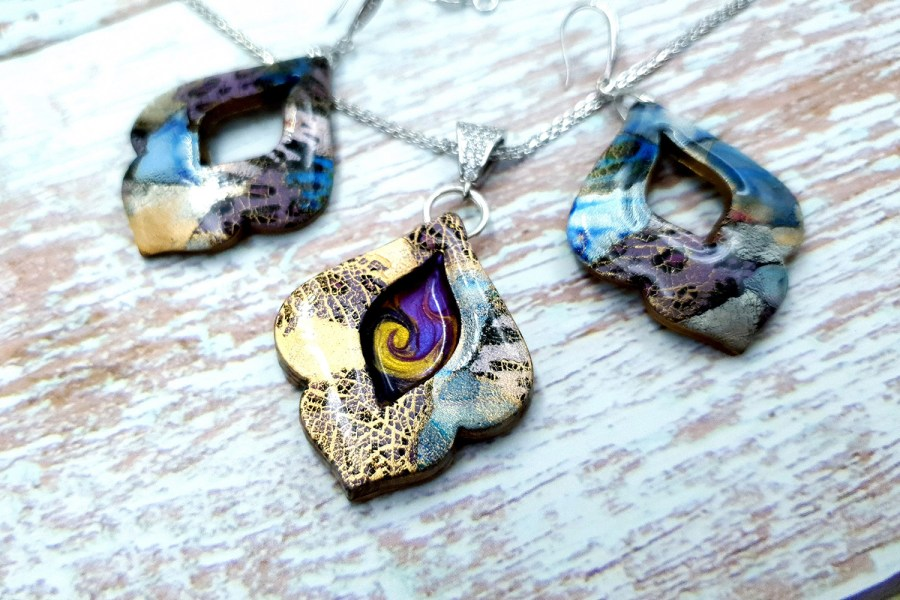 """Jewelry set """"The Marvelous East"""" 2"""