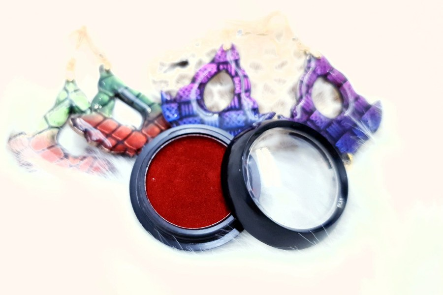 "Solid Powder ""Passionate Red"" 1"