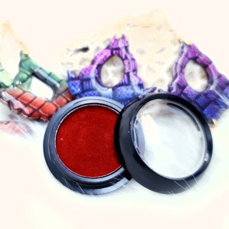 """Solid Powder """"Passionate Red"""""""