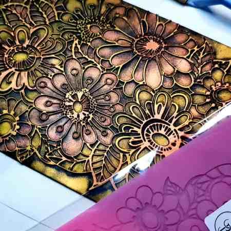 Flowers Doodle Lace – 120x170mm