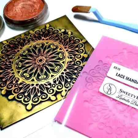 Lace Mandala #2 – 115x115mm