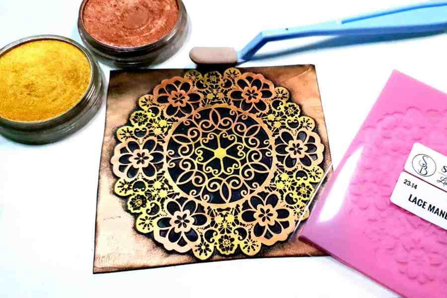 Lace Mandala #3 - 115x115mm 1