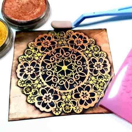 Lace Mandala #3 – 115x115mm
