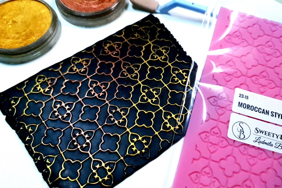 Moroccan Style Lace - 115x174mm