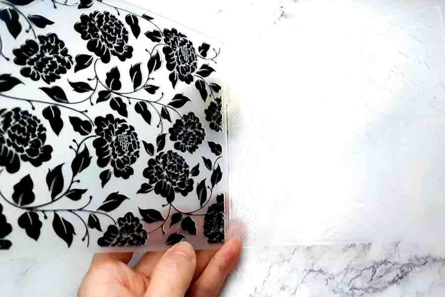 Black Roses Plastic Textures