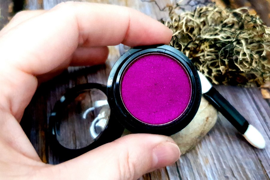 """Solid pigment powder """"Magenta"""" with metal effect"""