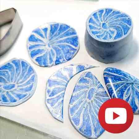 How to make Blue Nautilus cane