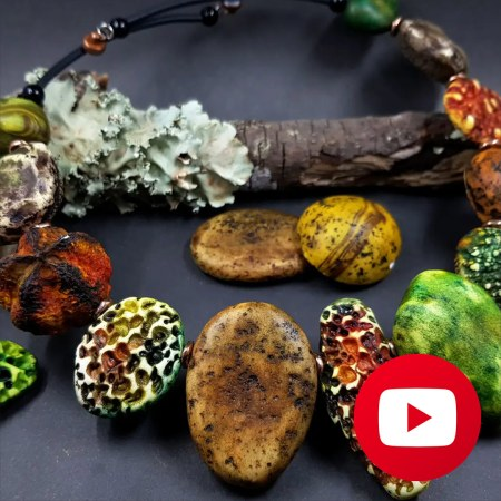 How to make river stones necklace