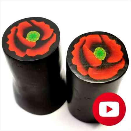 How to make amazing poppy cane