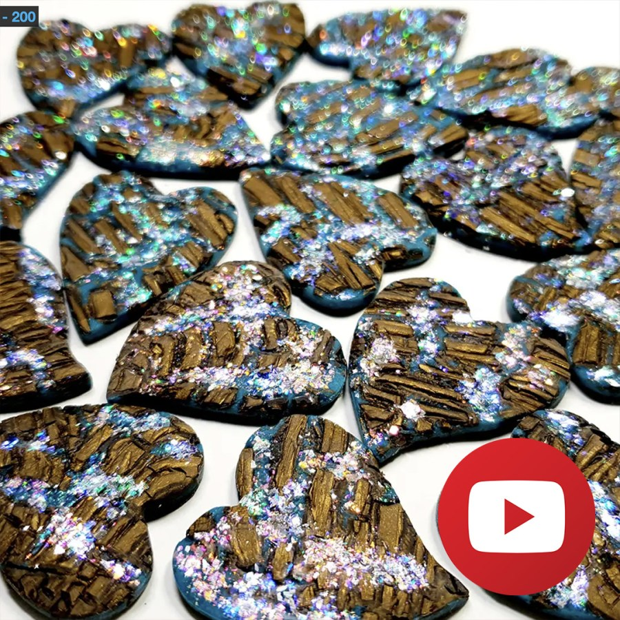 How to make a faux boulder opal 1
