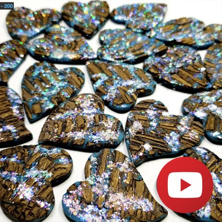 How to make a faux boulder opal