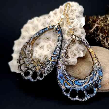 "Romantic Earrings ""Tenderness"""