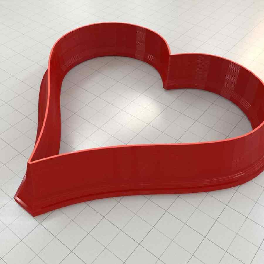 Set of 5 cutters: HEART#2