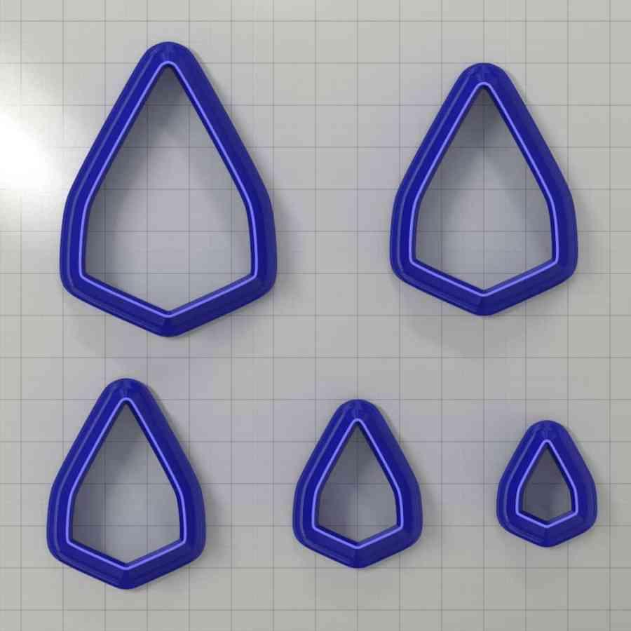 Set of 5 cutters: DROPS#3