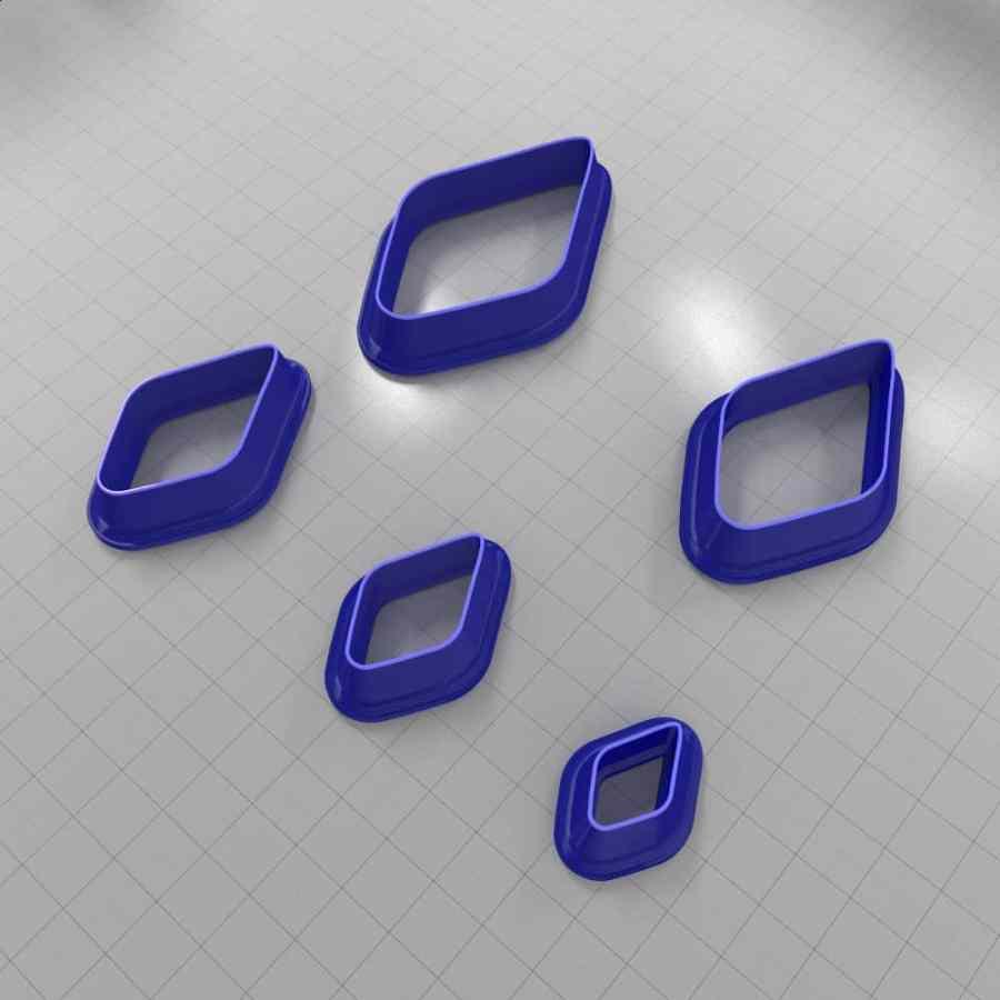 Set of 5 cutters: DROPS#6