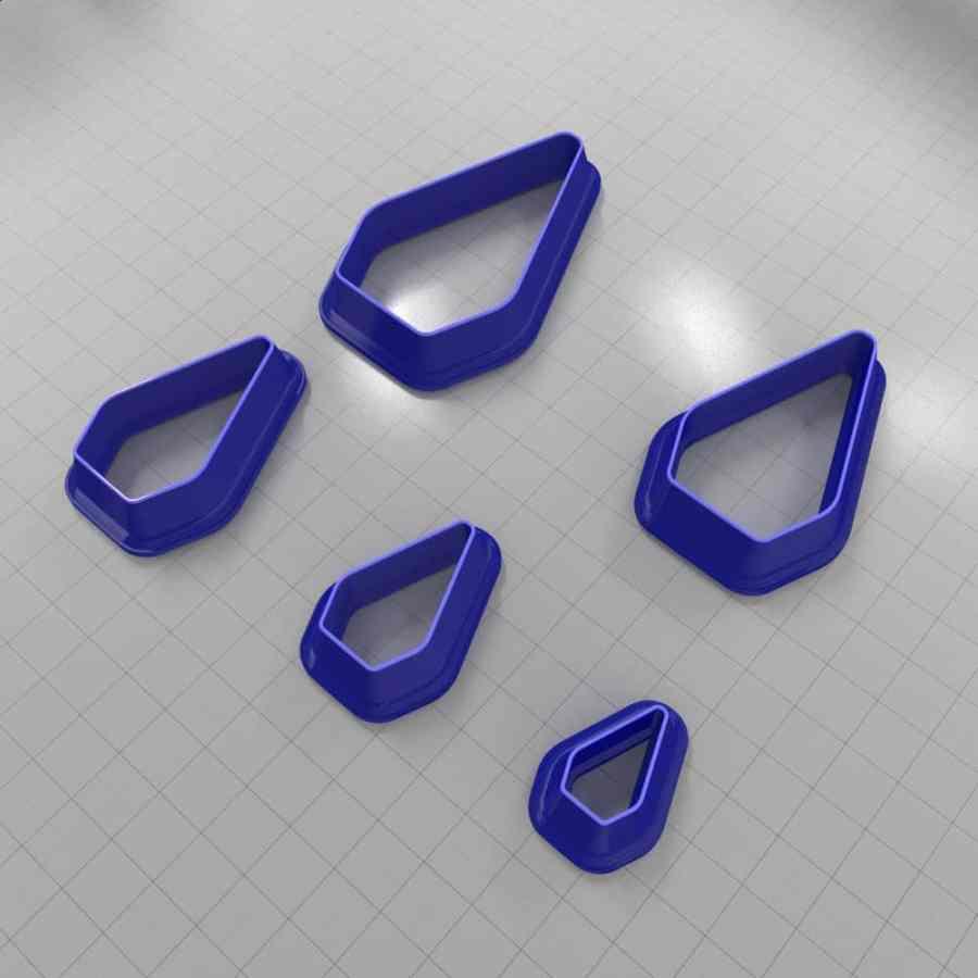 Set of 5 cutters: DROPS#11