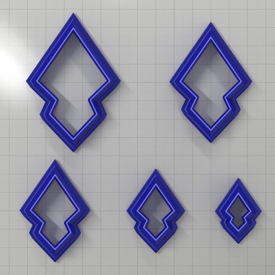 Set of 5 cutters: DROPS#32