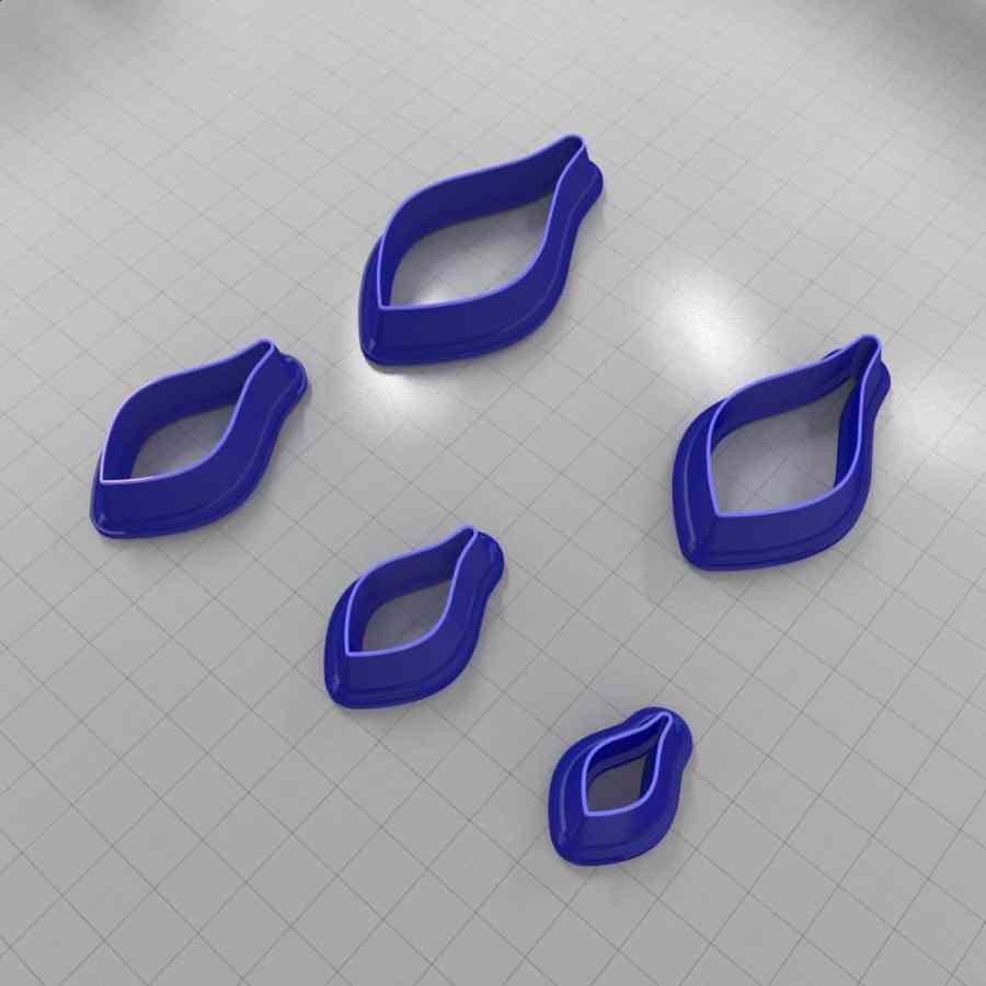 Set of 5 cutters: DROPS#38