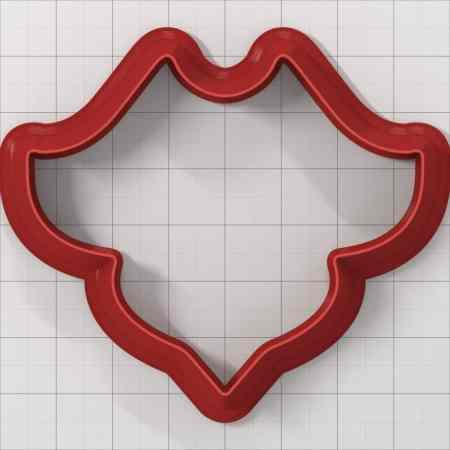 Set of 5 cutters: ROMANTIC#10