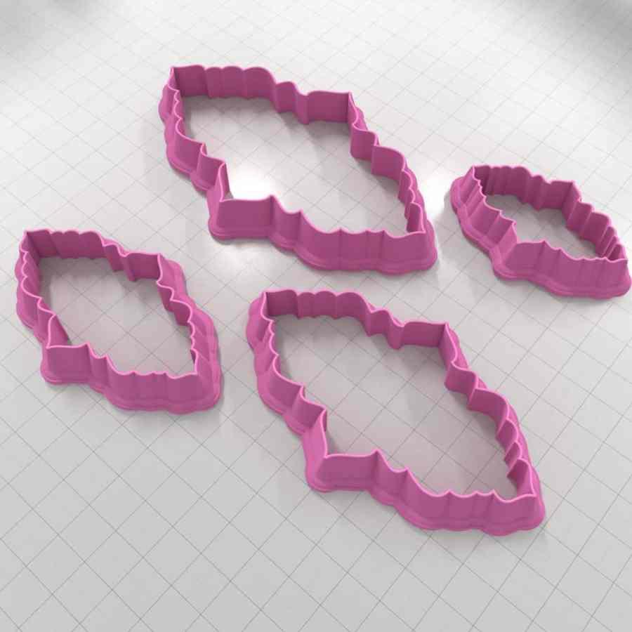 Set of 4 cutters - Focal Element #6 - 3,4,5,6cm