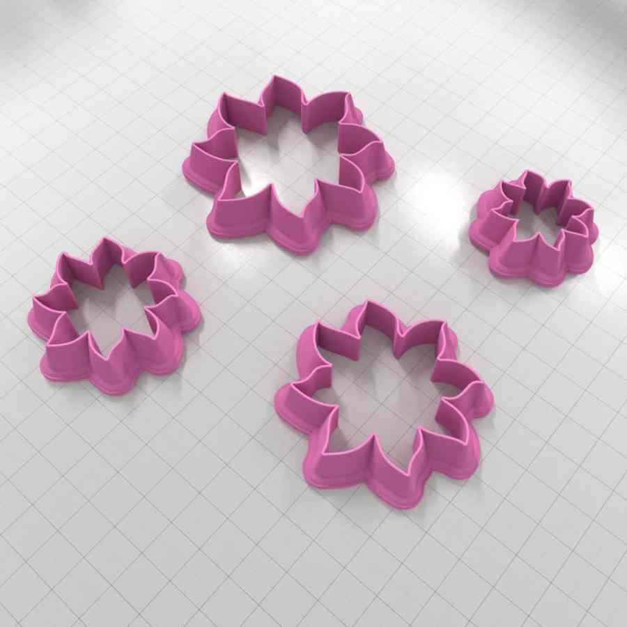 Set of 4 cutters - Focal Element #7 - 3,4,5,6cm