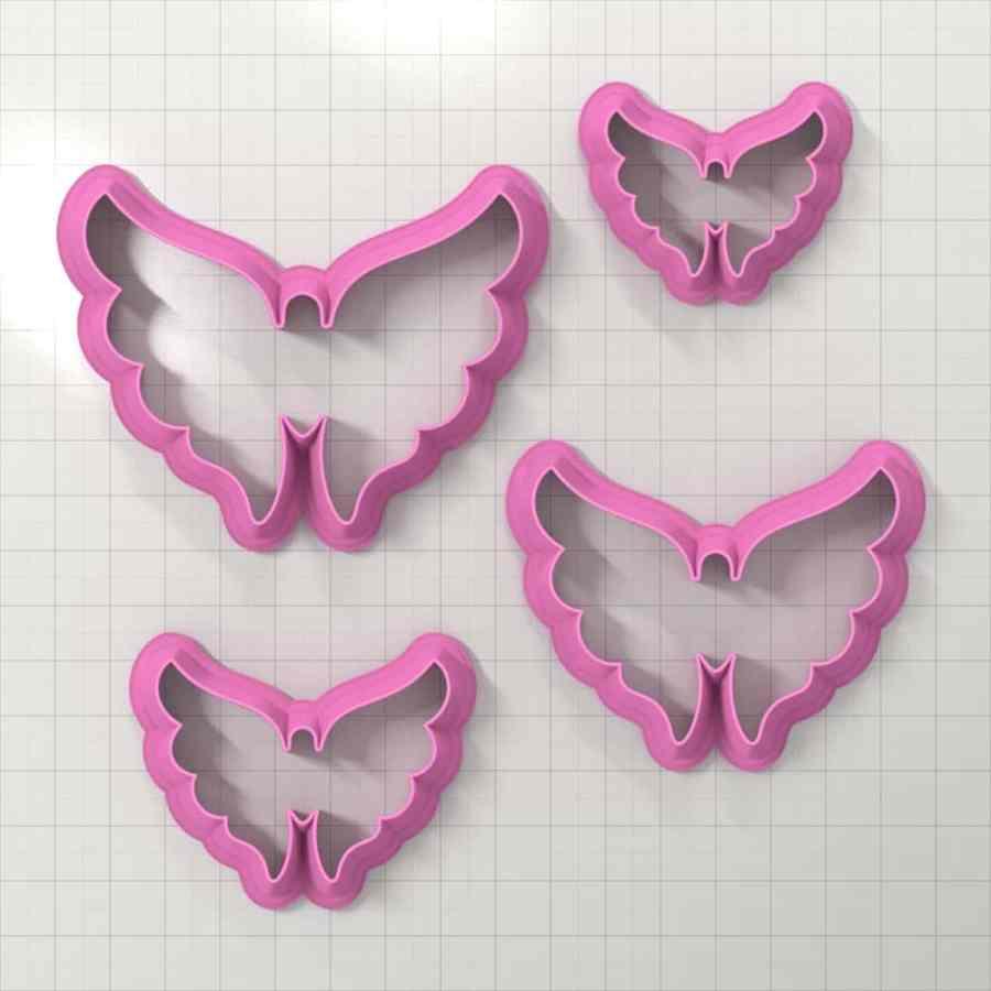 Set of 4 cutters – Focal Element #21 – 3,4,5,6cm
