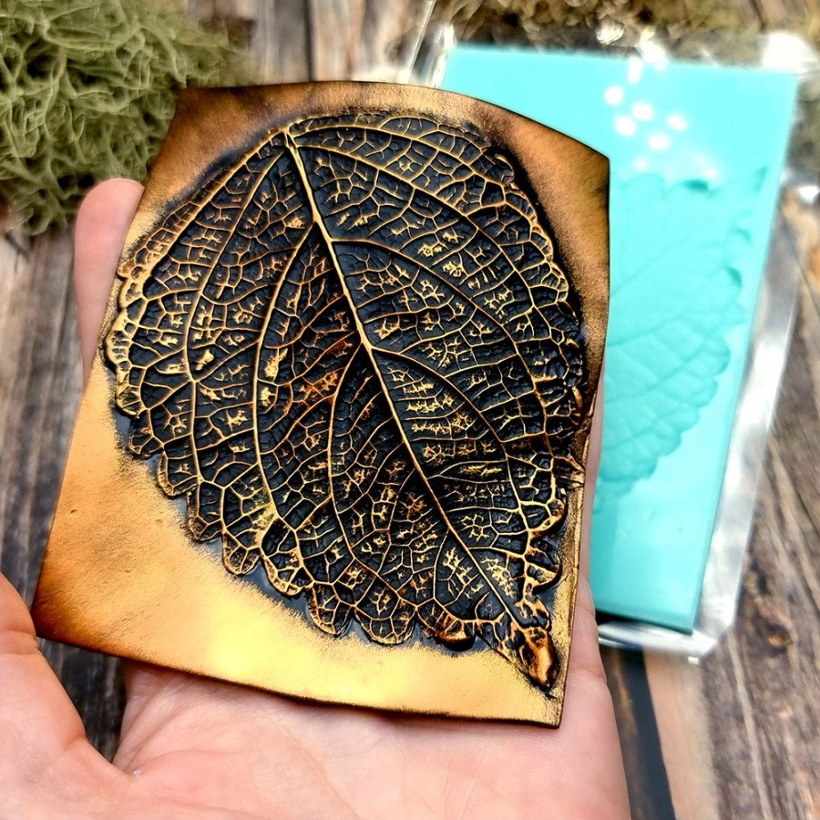 Perilla Blumei Flower - Texture-mold of real leaf #2