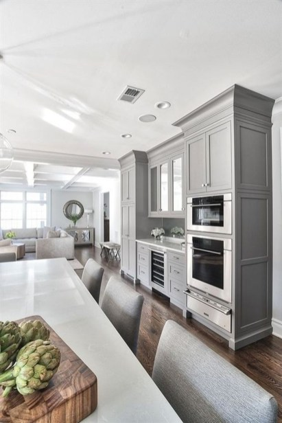 Amazing White Kitchen Design Ideas Which Will Make You Like Cooking 17