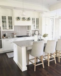 Amazing White Kitchen Design Ideas Which Will Make You Like Cooking 47