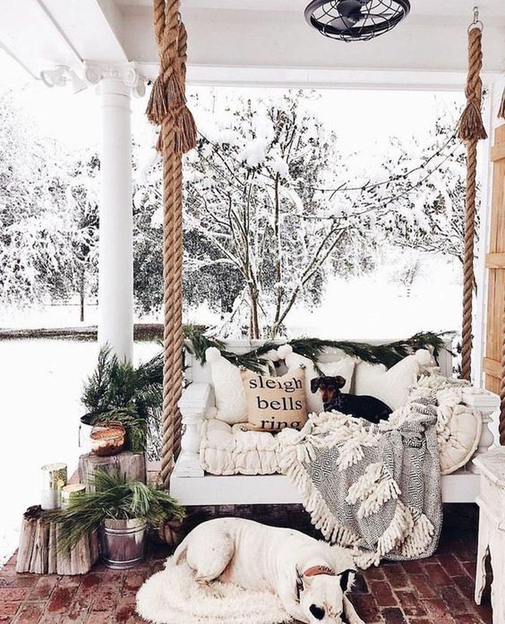 Amazing Winter Garden Landscape 40