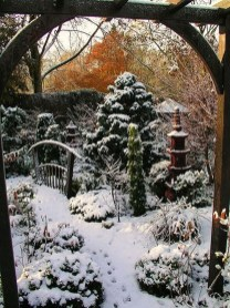 Amazing Winter Garden Landscape 48